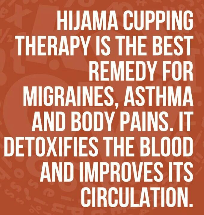 Benefits of Hijama/Cupping