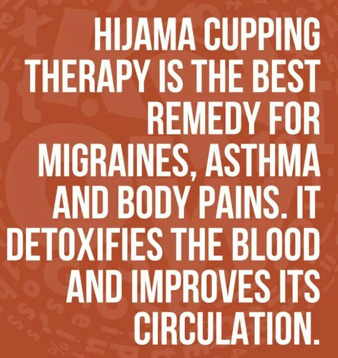 Benefits of Hijama/Cupping