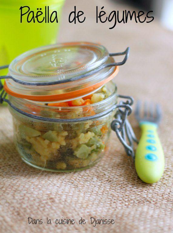 Ma paella de légumes, dès 12 mois