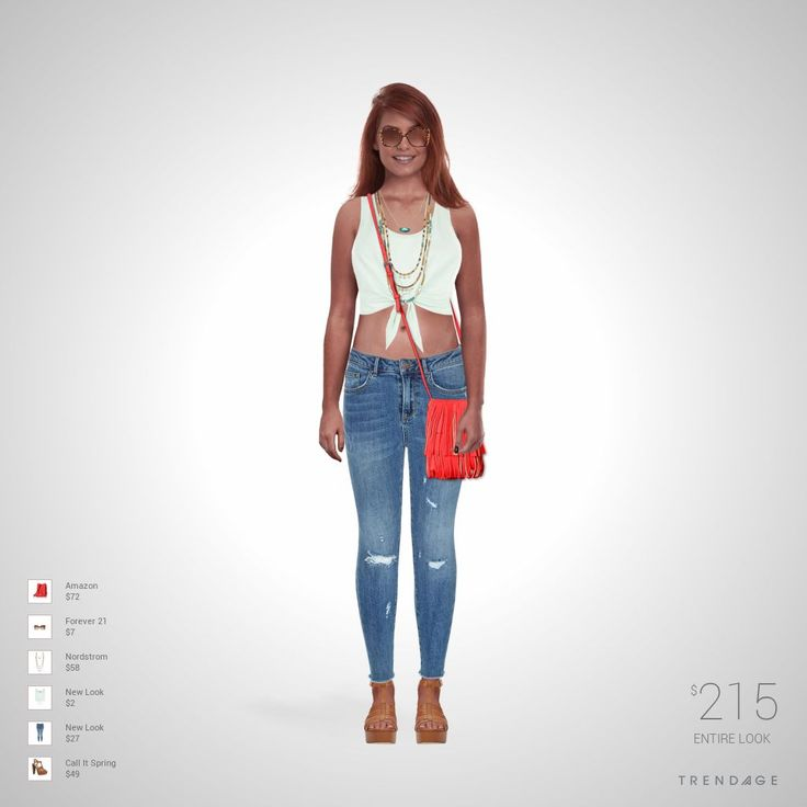 Fashion outfit made by Meli using clothes from Nordstrom, Forever 21, Amazon, New Look, Call It Spring. Look made on Trendage.