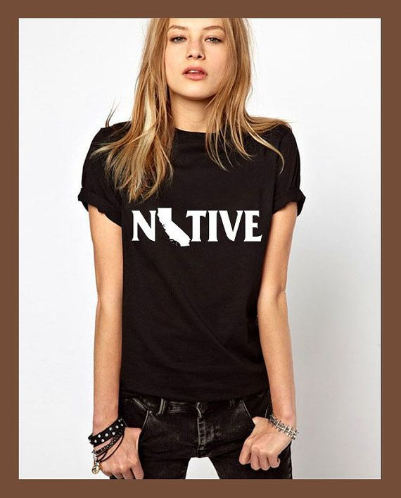 california shirt native shirt california tshirt by JLeishaStation