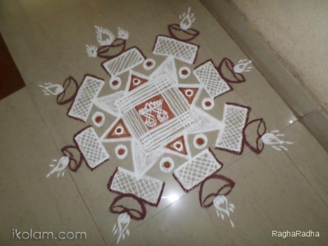 Rangoli Friday Padi Kolam Padi Kolam | m.iKolam.com