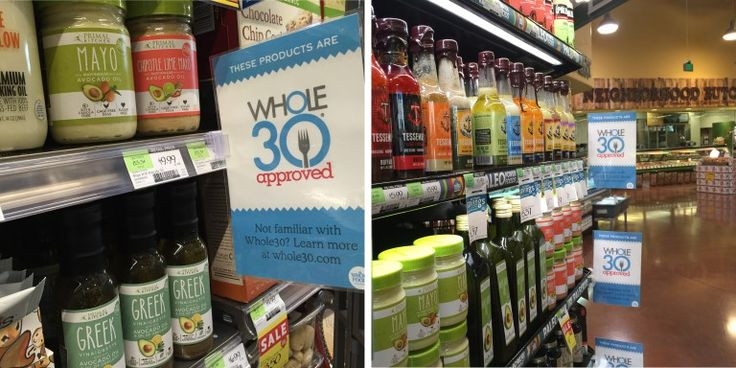 Whole30 Whole Foods List of compliant foods