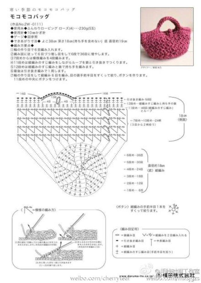crochet bag...♥ Deniz ♥