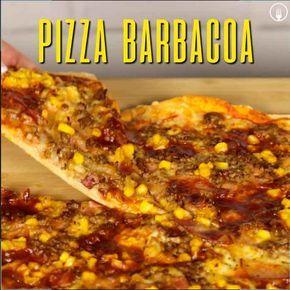 Pizza Barbacoa o BBQ 😋😋