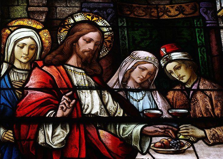 Saint Bernard Church (Burkettsville, OH) - clerestory, the Wedding at Cana, detail - Влад III Цепеш — Википедия