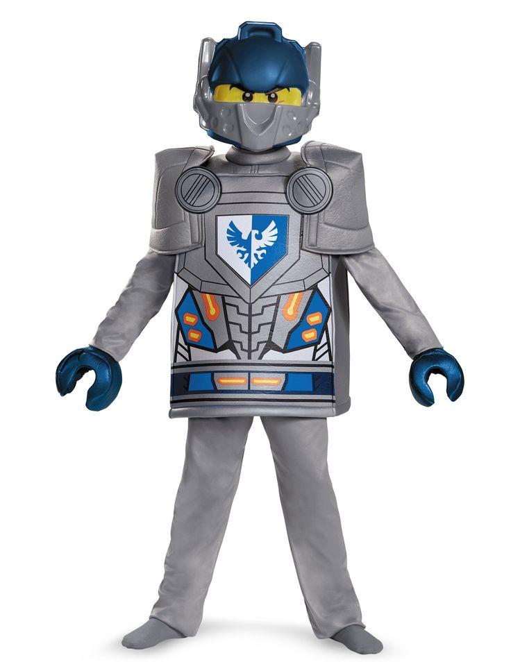 Deluxe Clay Nexo Knights™ - Lego™ kostuum voor kinderen #Lego #Ninjago #NexoKnights #Kerst2016