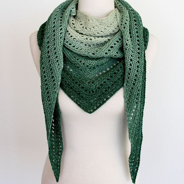 Ravelry: Kalari Shawl pattern by ambah                                                                                                                                                                                 More