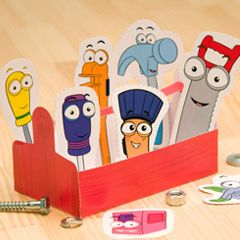 Handy Manny Toolbox | Printables | Spoonful