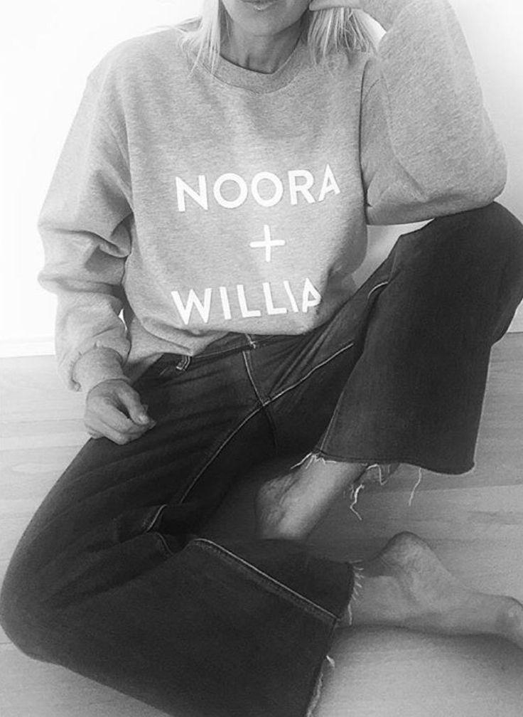 Noora + William #SKAM sweather @celineaagaard__ #regram | @itgenser on #Instagram