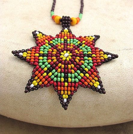 Hey, I found this really awesome Etsy listing at https://www.etsy.com/listing/210278284/seed-beaded-mandala-necklace-beadwork