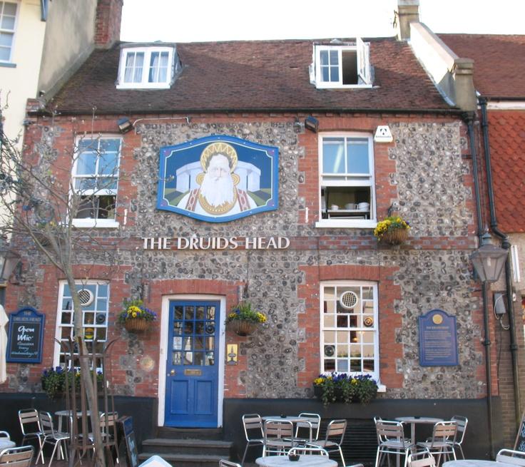 Druids head pub, brighton lanes