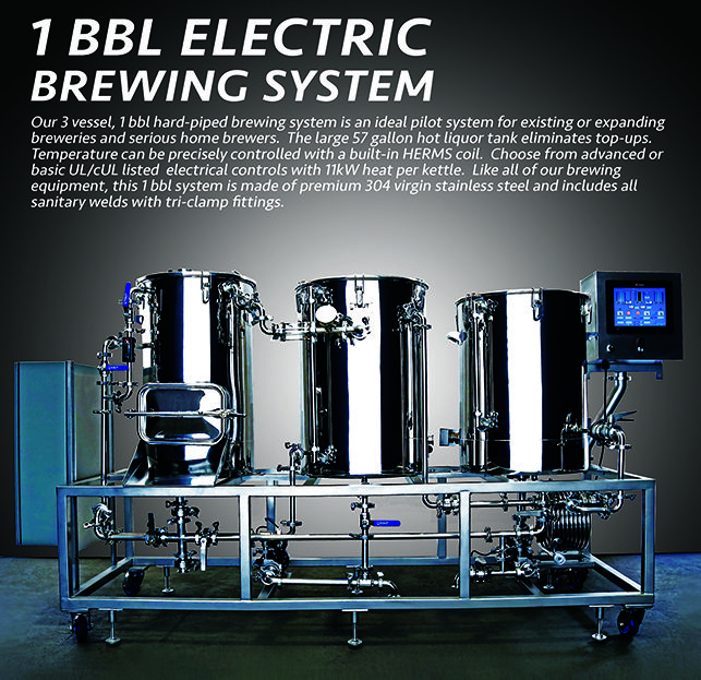 Many Brewers Are Buying 1 Bbl Pilot Systems Right Now But Not All Pilot Systems Are Created Equal We Packed Our Pilot Brewing Equipment Nano Brewery Brewing