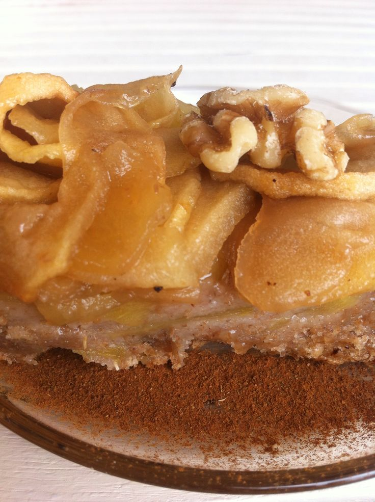 Bizcochito de manzana al estilo púding Sin azúcar. #vegan www.mamabio.es