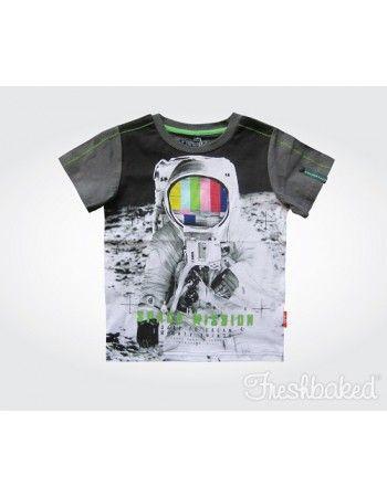 Freshbaked | Space Mission Tee - Shortsleeve - Gun Metal