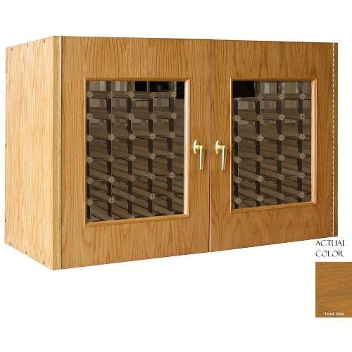 Vinotemp Vino-296g-io 224 Bottle Wine Cellar Credenza - Glass Doors / Iced Oak Cabinet by Vinotemp. $3569.00. Vinotemp VINO-296G-IO 224 Bottle Wine Cellar Credenza - Glass Doors / Iced Oak Cabinet. VINO-296G-IO. Wine Cellars. This Wine Cellar boasts two elegant, double paned glass doors with a classic wood trim. The wine mate self contained cooling system ensures proper circulation while your wine is stored safely away. Digital temperature control makes temperature adjusti...