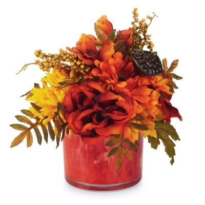 Fall Entertaining Floral Arrangement