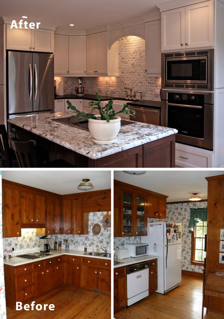 Before Amp After Custom Kitchen By Ashley Thompson Design