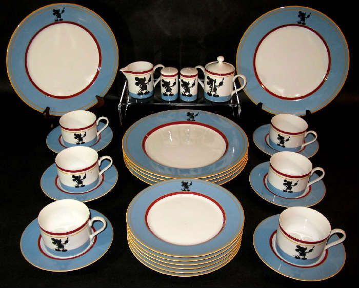 NET Walt Disney Mickey Michael Graves Pfaltzgraff Dinnerware. This dinnerware & 441 best Virtual Disney - Mickey Diner/Snack Area/Kitchen images by ...