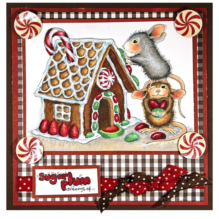 Build A Gingerbread House With The Mice And Dream Of Sugar