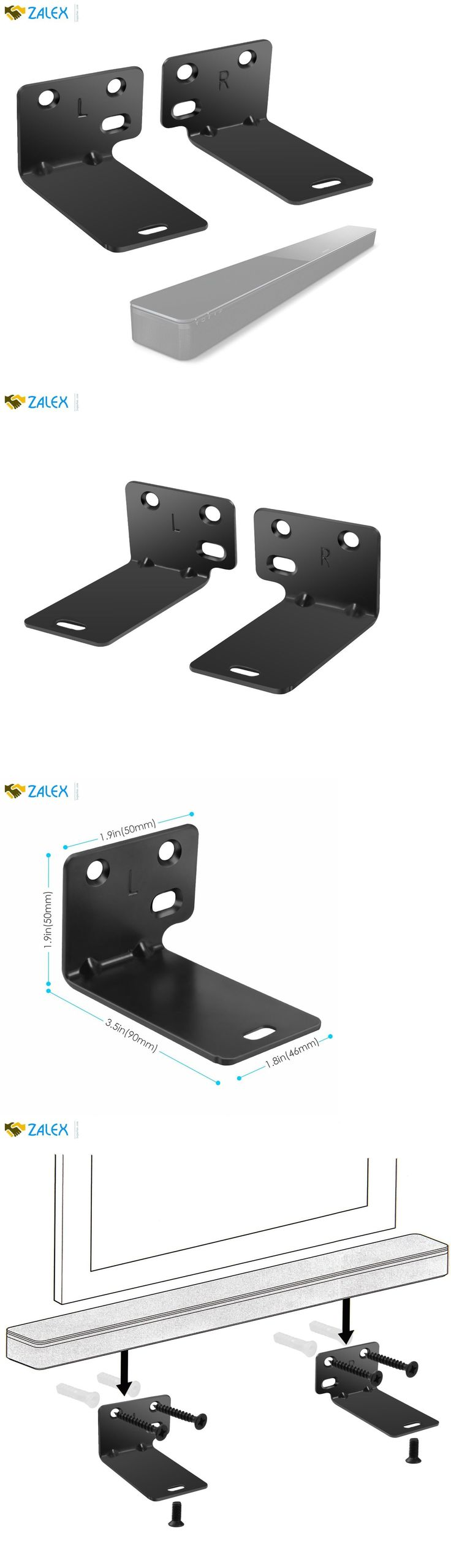 Speaker Mounts and Stands: Steel Wall Bracket For Bose Wb-300 Sound Touch 300 Soundbar Speaker Black New -> BUY IT NOW ONLY: $33.48 on eBay!