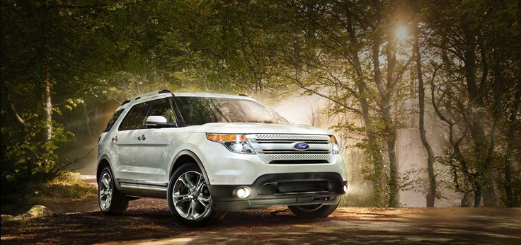 2013 Ford Explorer Limited in Oxford White