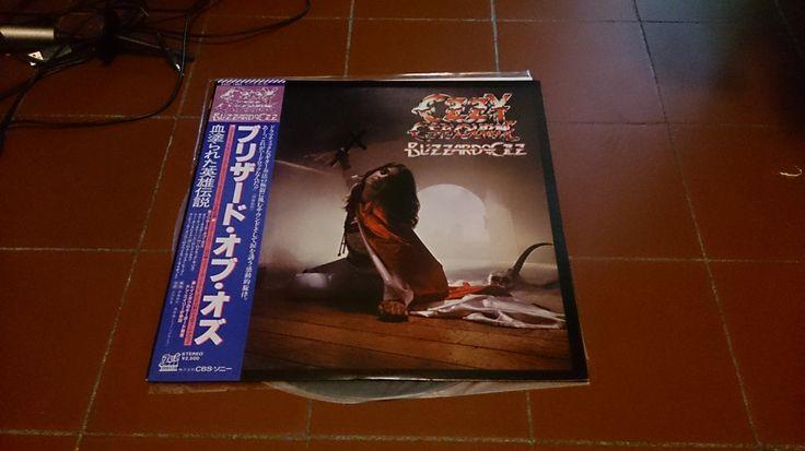 Ozzy Osbourne - Blizzard Of Ozz LP Vinyl 1980 Japan / Black Sabbath