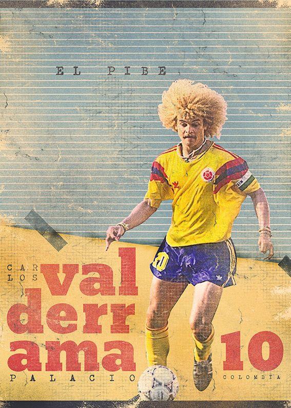 Carlos 'El Pibe' Valderrama #9ine