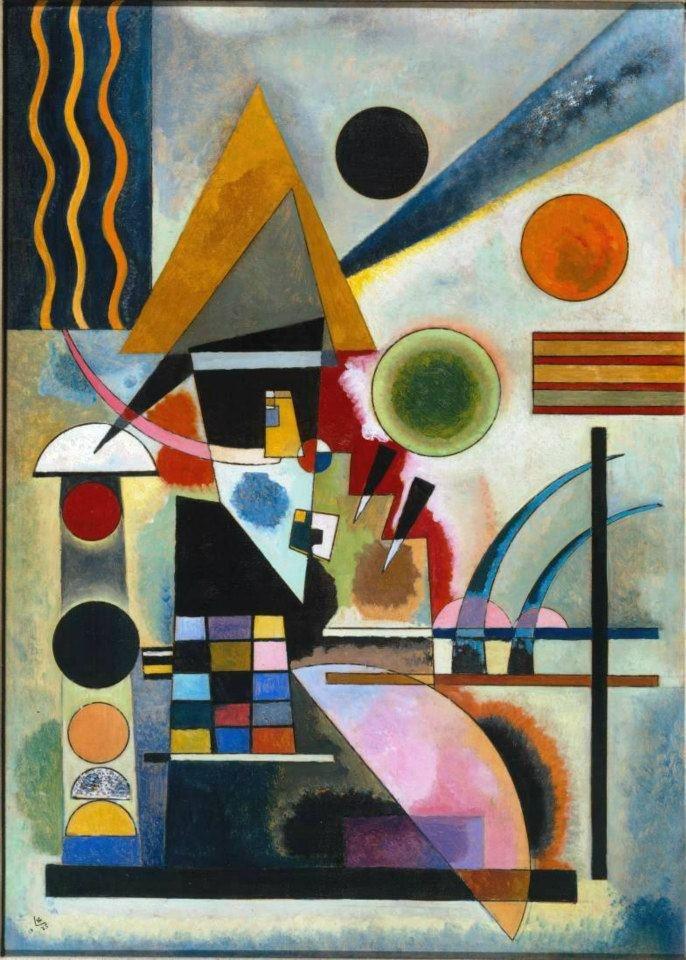 Vasilij Kandinskij - Swinging, 1925