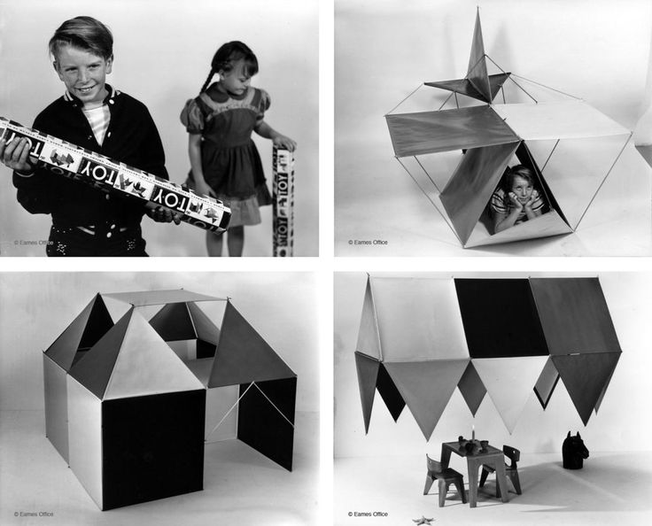 Here are a few architects' creations from throughout history that show we are never too old to delve into the toy box