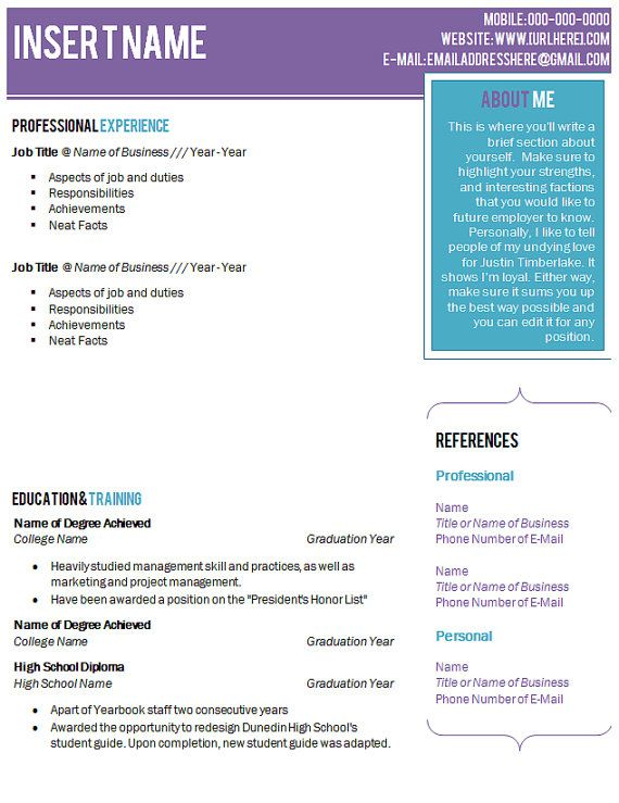 X Clean Resume by khaledzz9deviantart on @DeviantArt Good - resume format on microsoft word 2010