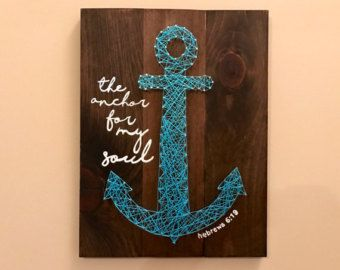 Items similar to Jesus is the Anchor of My Soul - Hebrews 6:19 ...