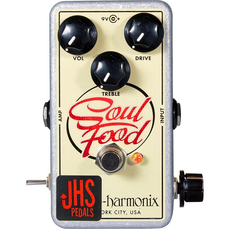 """JHS Pedals EHX Soul Food """"Meat & 3"""" Mod Guitar Effects Pedal"""