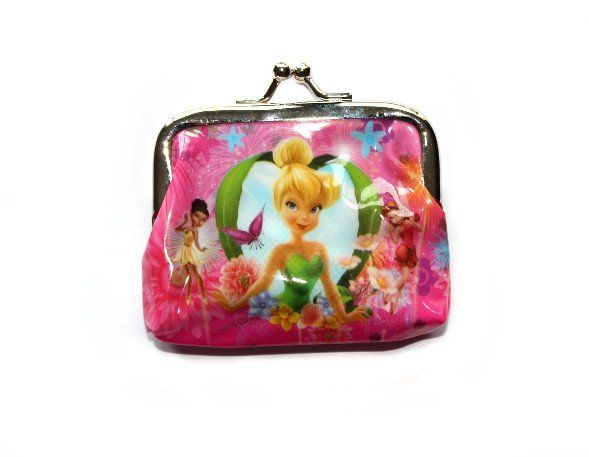 This cute purse is a great add-on gift for a little girl! Available in 4 different designs and at only $2, who wouldn't want one! Tinkerbell Coin Purse - Heart