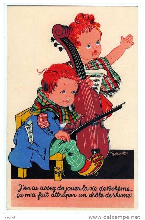 bernet enfants illustrateurs - Delcampe.fr | Carte postale, Image pour enfant, Cartes postales ...