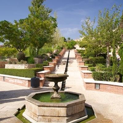 Almeria Alcazaba fountain