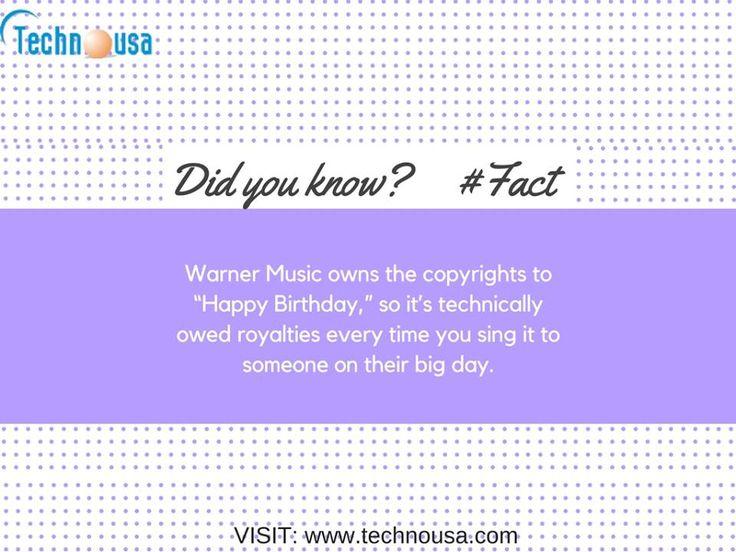 Warner Music - Fact