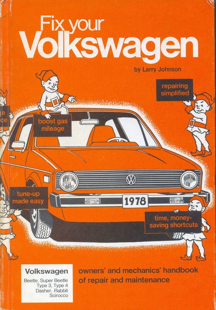 79 best the art of manuals images on pinterest books blankets and fix your volkswagen owners and mechanics handbook of repair and maintenance for beetle super beetle type type dasher rabbit and scirocco fandeluxe