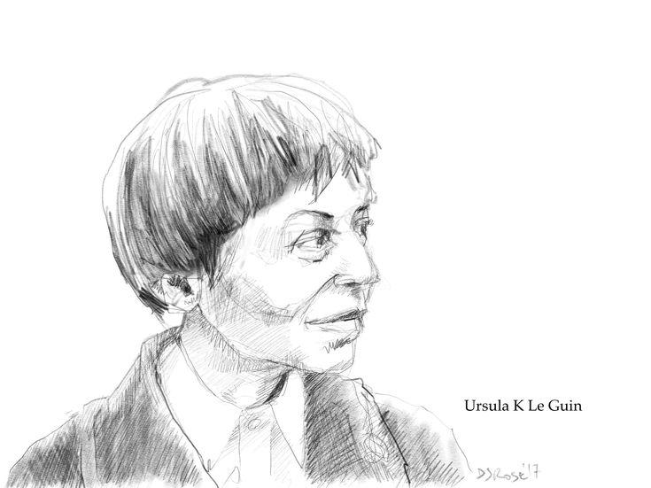 https://flic.kr/p/22neZpv | Ursula K Le Guin | Here's one I did earlier. RIP.