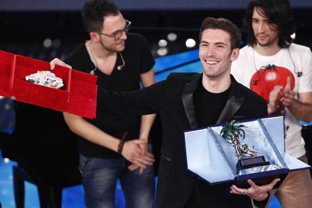 #Sanremo2015 vincitore fra le #nuoveproposte #GiovanniCaccamo