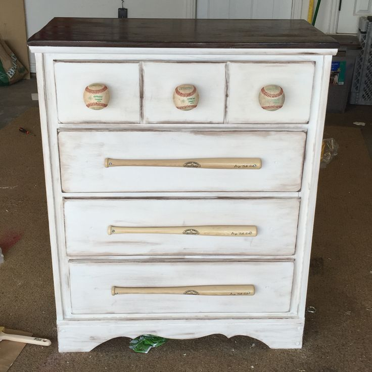 Baseball Dresser