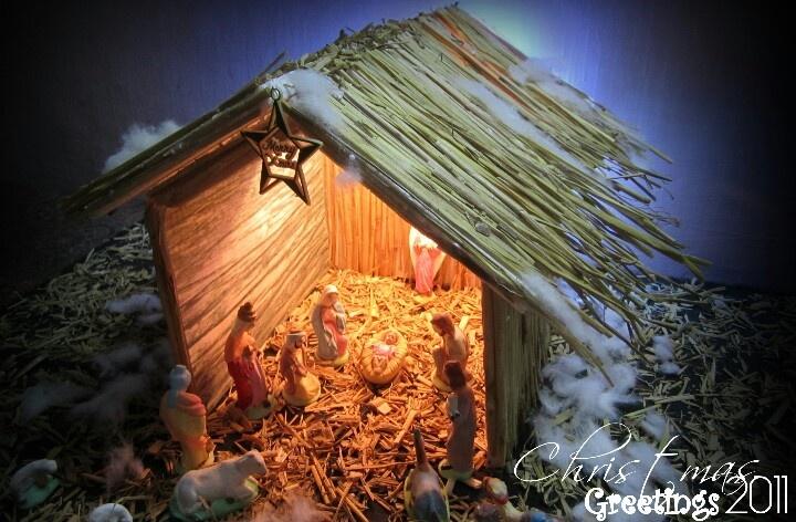 Christmas Crib Christmas Crib Jesus December Diy