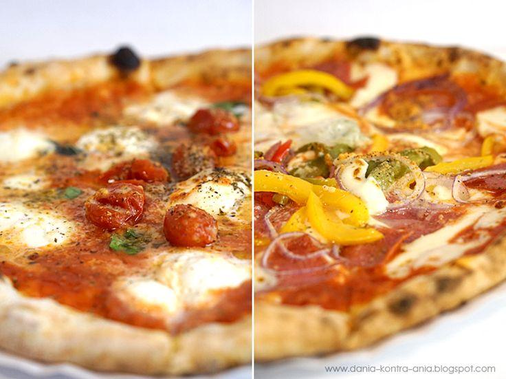Wrażenia z wizyty w pizzerii Pizza Napoletana Vincenzo Pedone w Krakowie - pizza neapolitańska.