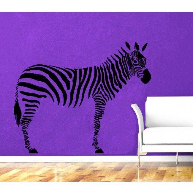 Zebra Home Deco Premium Vinyl Wall Sticker