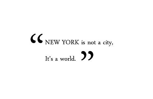 new york, city, and quote-bild