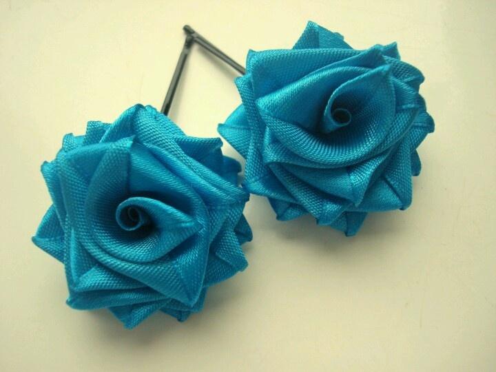 Blue Teal Roses