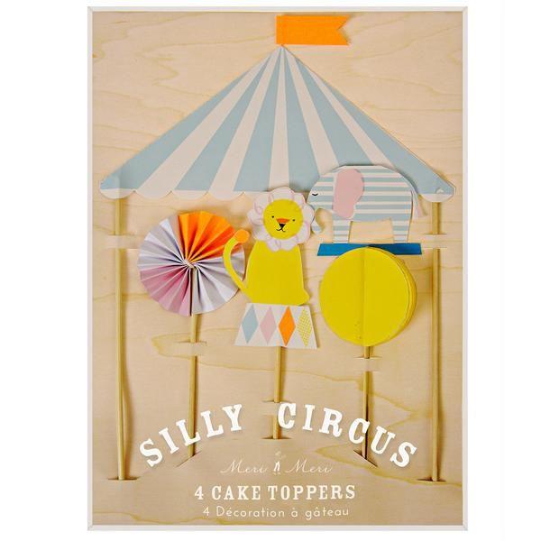 Meri Meri kagepynt, Silly Circus