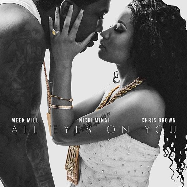 "New Music: Meek Mill ft. Nicki Minaj & Chris Brown ""All Eyes On You"" Follow me @barbzinpink"