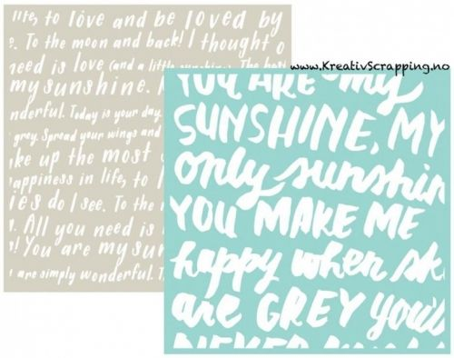 WE R - EMBOSSING FOLDER GOOSEBUMPZ 3716 - SCRIPT Embossing folder fra WE R MEMORY KEEPERS. Måler 6x6 inch. We R Memory Keepers-Goosebumpz Embossing Folder. Give your paper crafts a unique look! Embosses with most die-cutting tools. This package contains two 6x6 inch embossing folders. Comes in a variety of designs. Each sold separately.