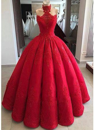 luxus abendkleider lang rot  prinzessin abiballkleider spitze modellnummer xy530  abendkleid